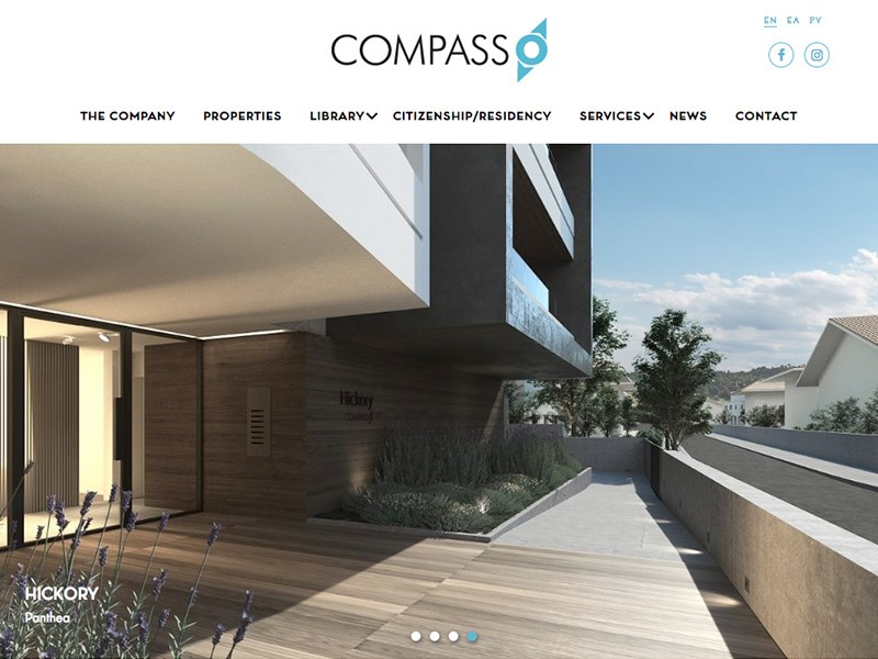 Compass Developers website